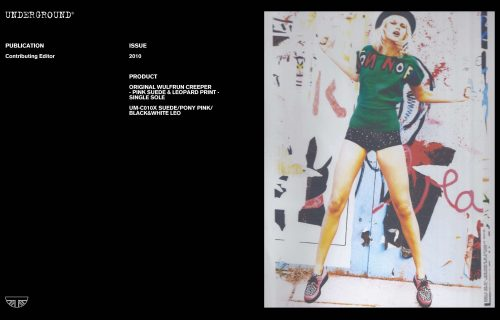 Press Features Gallery - Independents 2010 UM-C010 SUEDE/PONY PINK/BLACK&WHITE LEO
