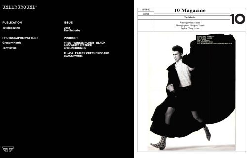 Press Features Gallery - Independents 2012 Photographer/Stylist: Gregory Harris Tony Irvine