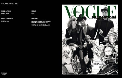 Press Features Gallery - Vogue Italia Photographer/Stylist: Phil Poynter