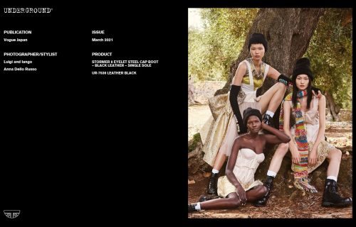 Underground Press Features Gallery -Vogue Japan March 2021 Photographer/Stylist: Luigi and Iango and Anna Dello Russo