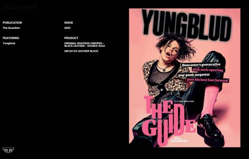 Press Features Gallery - Artists Yungblud UM-D010X LEATHER BLACK