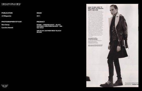 Press Features Gallery - i-D Photographer/Stylist Nick Dorey Caroline Newell