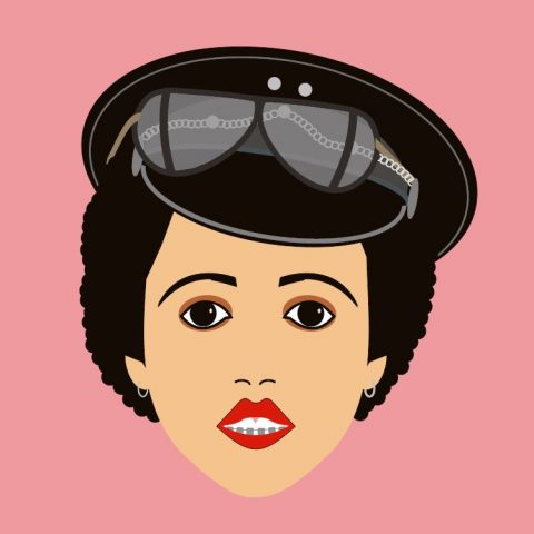punk rock cartoons Poly Styrene