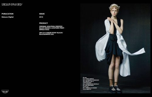 Press Features Gallery - Independents 2010 UM-C010 SUEDE/PONY BLACK/BLACK&WHITE LEO