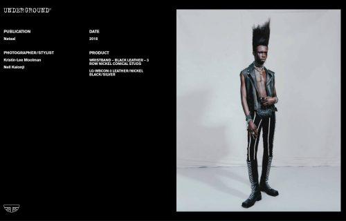 Press Features Gallery - Independents 2018 Photographer/Stylist: Kristin-Lee Moolman Nell Kalonji